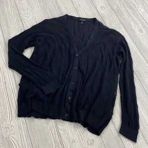 Torrid Black Button Down Cardigan - sz 3